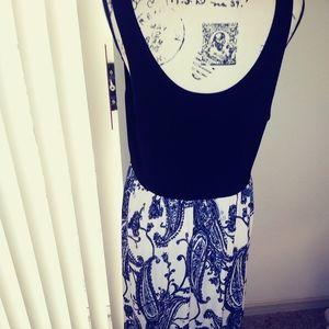 Michael Kors sleeveless midi dress size xl
